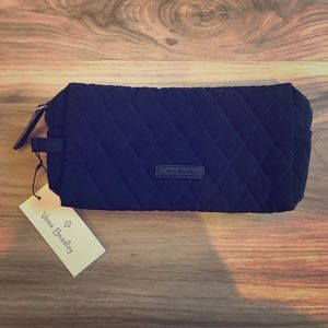 Vera Bradley Medium Cosmetic Bag ~ Classic Black